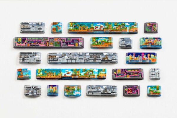 8bits series artisan keycaps 2194