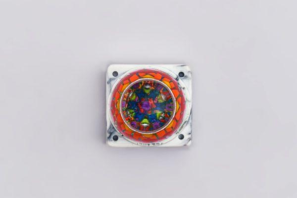9jelly Key Mosaic Resin Keycaps2