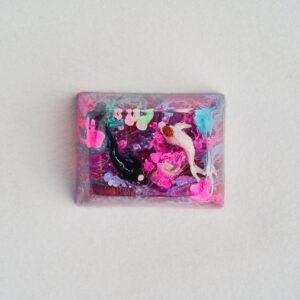 A2 Jelly Key Zend Pond Artisan Keycaps171
