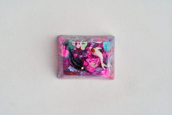 A2 Jelly Key Zend Pond Artisan Keycaps171