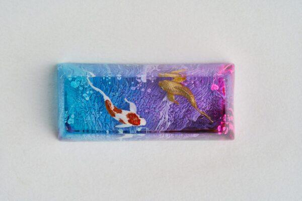 A6 Jelly Key Zend Pond Artisan Keycaps228