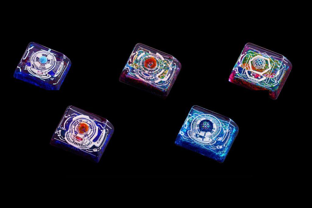 Cosmo Jelly Key Artisan Keycaps 0392