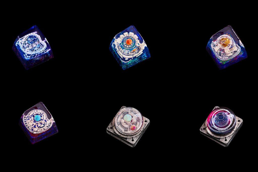 Cosmo Jelly Key Artisan Keycaps 0393