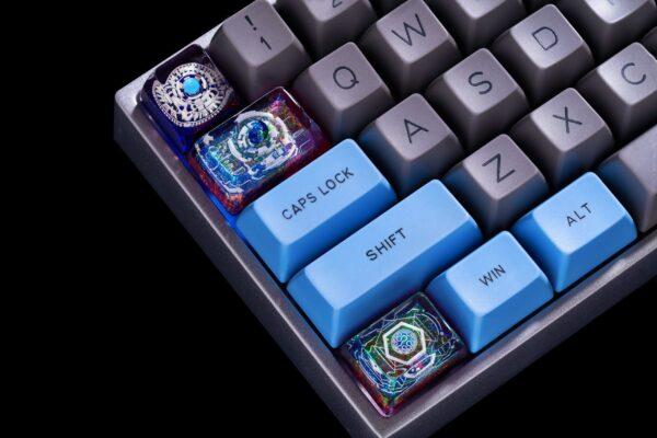 Cosmo Jelly Key Artisan Keycaps 471 472