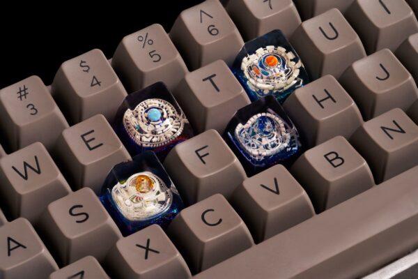 Cosmo Jelly Key Artisan Keycaps 498 500 501