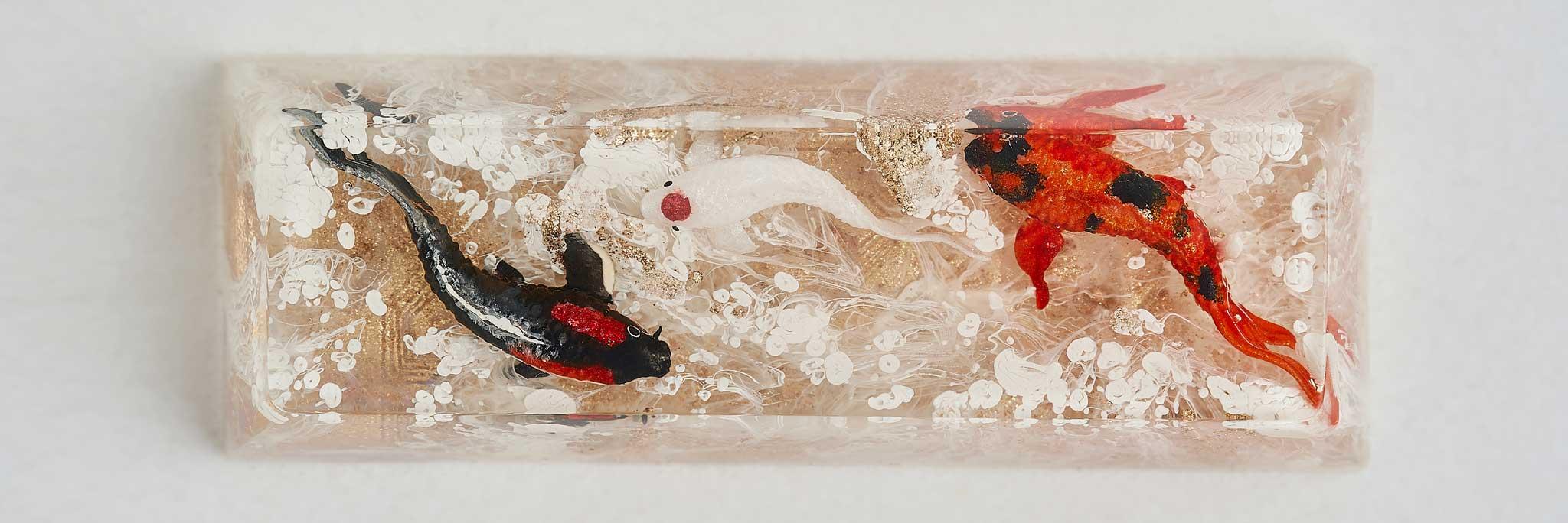 D7 1 Jelly Key Zend Pond Keycaps923