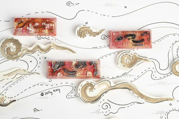 Dragon Artisan Keycaps 7600 1 1