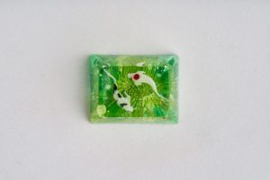 E2 Jelly Key Zend Pond Artisan Keycaps177