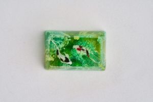 E3 Jelly Key Zend Pond Artisan Keycaps180