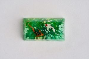 E4 Jelly Key Zend Pond Artisan Keycaps208