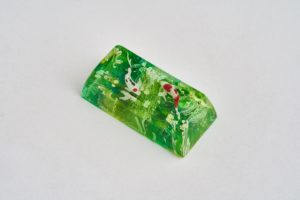 E5 Jelly Key Zend Pond Artisan Keycaps088