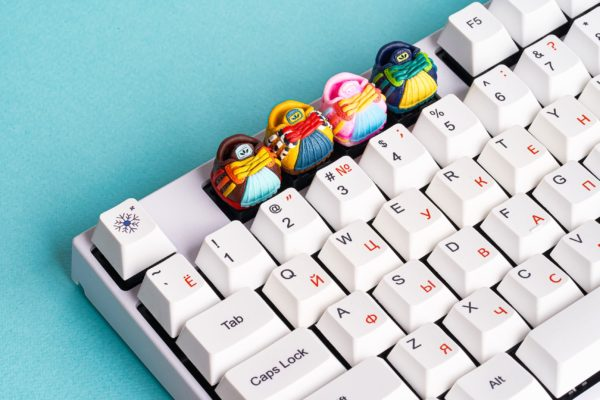 Jelly Key Shoes Keycaps 232