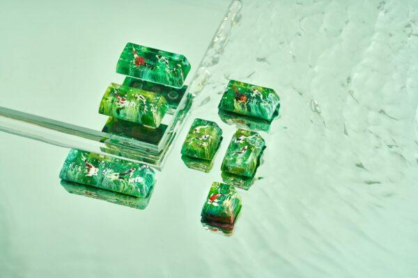 Jelly Key Zend Pond Keycaps 000494