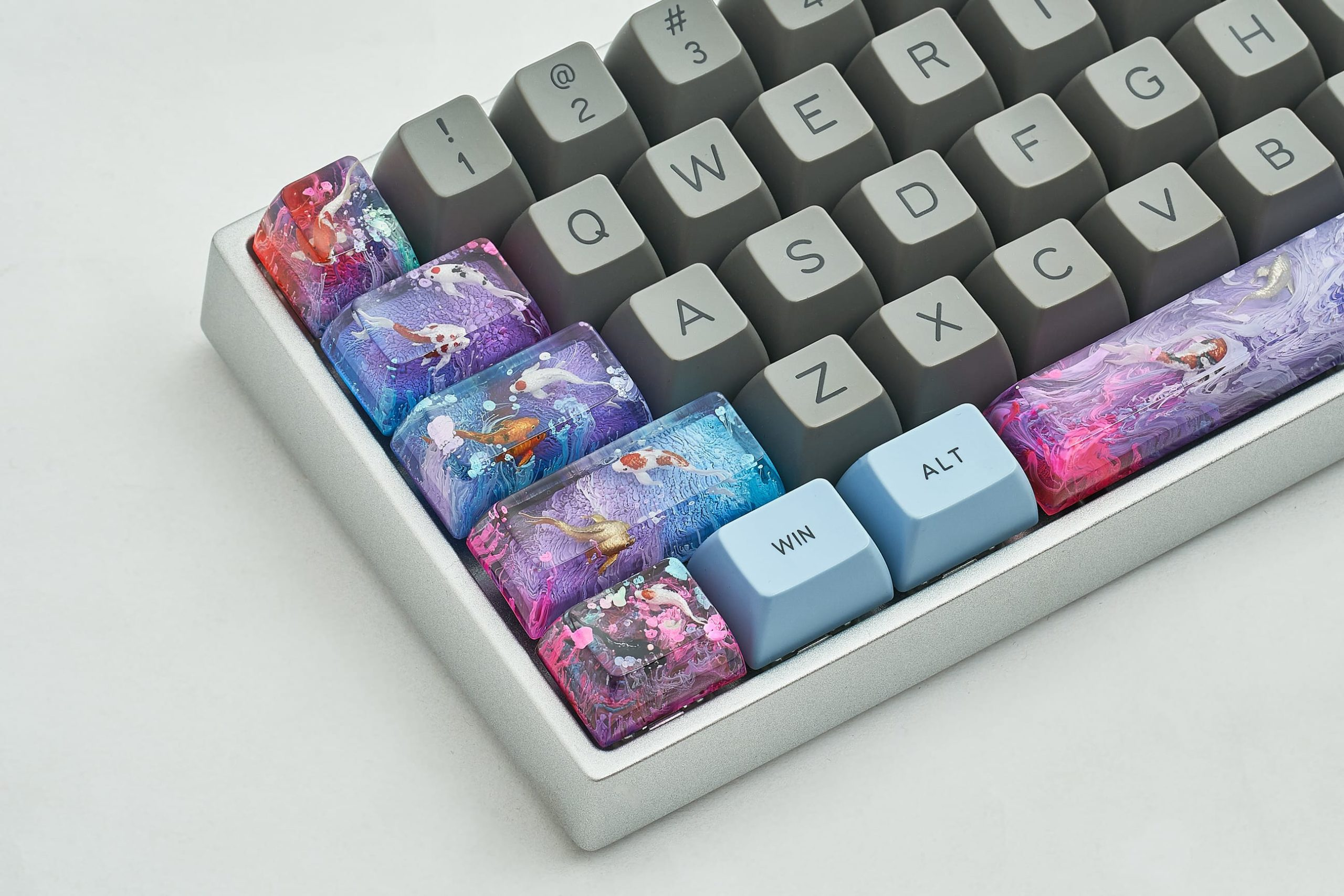 Jelly Key Zend Pond Keycaps 12873