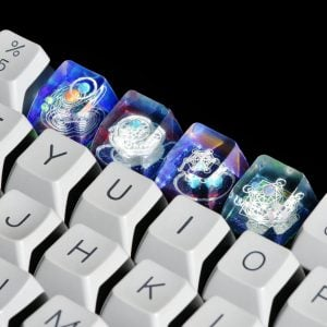 Jelly Key Artisan Resin Keycaps For Mechanical Keyboards 065