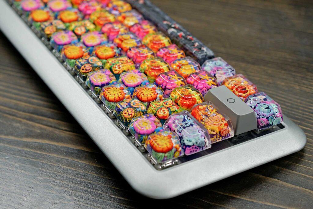 Jelly Key Resin Artisan Keycaps 07