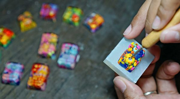 Jelly Key Resin Artisan Keycaps 46