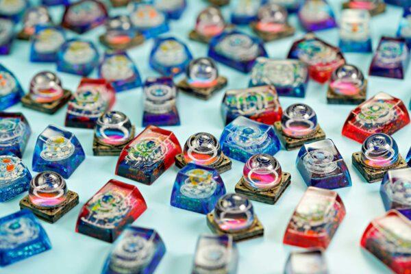 Jelly Key Resin Keycap 01010