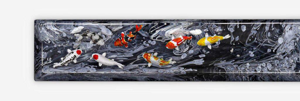 Koi Fish Keycaps 80
