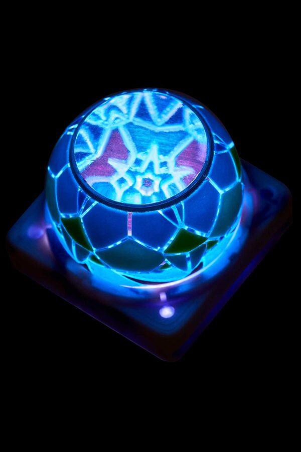 PhÁtjelly Key Mosaic Resin KeycapssÁngjelly Key Mosaic Resin Keycaps5