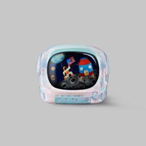 retro tv series – life on planets artisan keycap 001