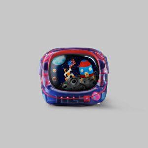 retro tv series – life on planets artisan keycap 009