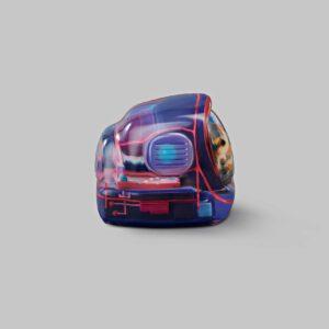 retro tv series – life on planets artisan keycap 011