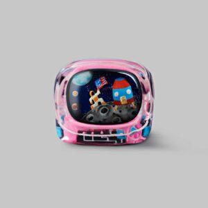 retro tv series – life on planets artisan keycap 016