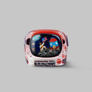 retro tv series – life on planets artisan keycap 021
