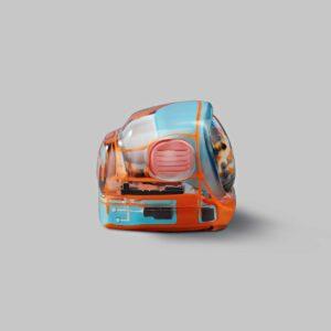 retro tv series – life on planets artisan keycap 026
