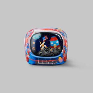 retro tv series – life on planets artisan keycap 052