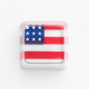 us flag keycap,keycap,usa keycap,flag keycap