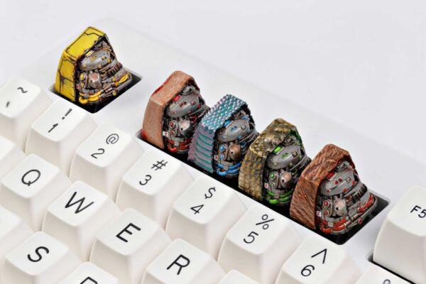 anatomy custom keycaps 028