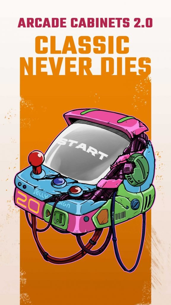 Arcade Game Keycaps 001