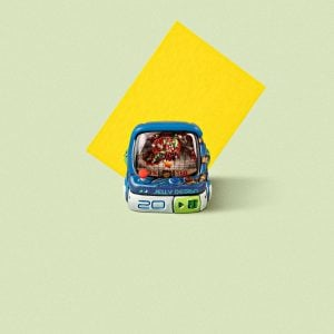 Arcade Game Keycaps 054