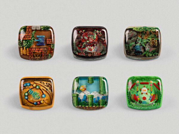 Arcade Game Keycaps 082