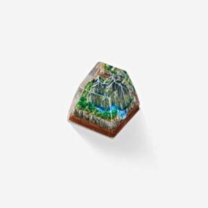 born of forest listens custom keycaps 0046