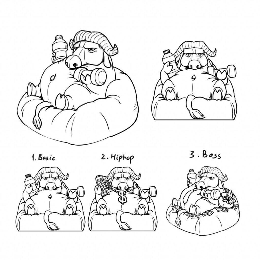 Bufalo Keycaps Sketch