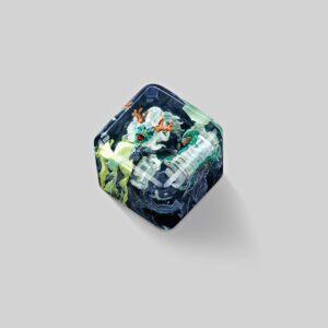 dragon artisan keycaps 031