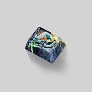 dragon artisan keycaps 034