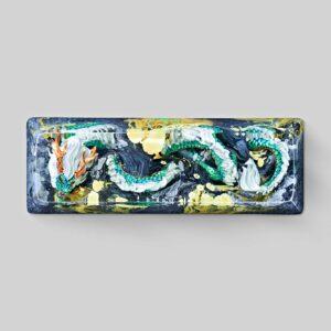 dragon artisan keycaps 050