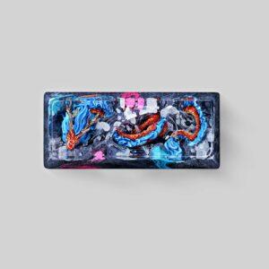 dragon artisan keycaps 074