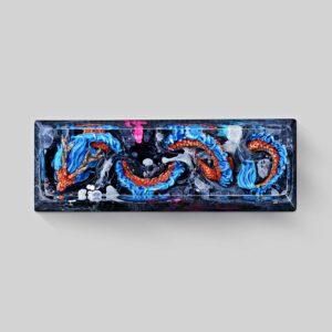 dragon artisan keycaps 077