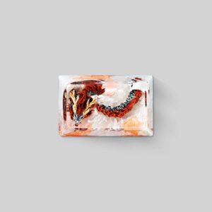 dragon artisan keycaps 092