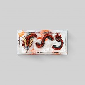 dragon artisan keycaps 098
