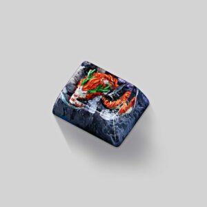 dragon artisan keycaps 115