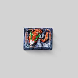 dragon artisan keycaps 116