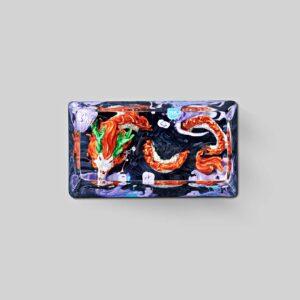 dragon artisan keycaps 122