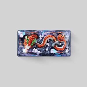 dragon artisan keycaps 125