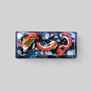 dragon artisan keycaps 128
